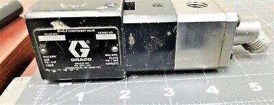 Graco Spray Foam Precisionswirl Orbital Dispenser Valve 1k Ultra-lite Z5b1