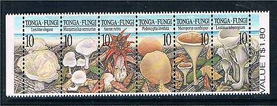 Tonga 1997 Fungi STRIP SG 1409-14MNH
