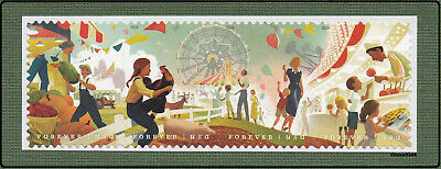 Scott #5401-04 2019 State and County Fairs (Horiz Strip of 4) 2019 MNH