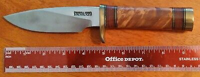 RANDALL MADE KNIFE #25 THE TRAPPER BURL MAPLE NEW FREE PRIORITY SHIPPING