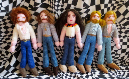 Super Limited Edition Knitted Set of Eagles! Seventies. Country Rock!