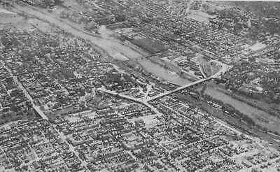 Bethlehem Pennsylvania Birdseye View Of City Antique Postcard K66185 ()