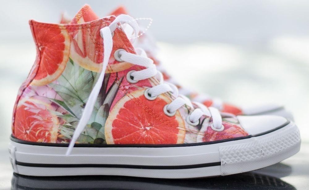 Women's Converse Shoe Sneaker Grapefruit Org UNISEX All Star