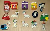 13 - 101 Dalmatian Figures plus Unique Disney Cup