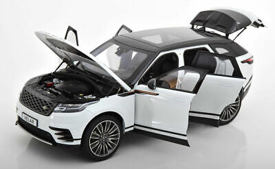 LCD Models 1/18 Model Car Land Rover Range Rover Velar 2018 White Diecast for sale  Shipping to Ireland