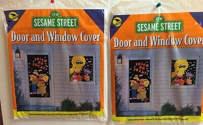 Ea Halloween (24 Sesame Street Door & Window Cover Halloween Wholesale New $1.50ea USA seller )