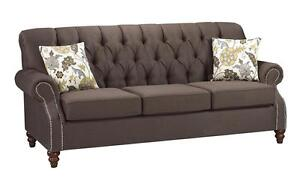TUFTED  COUCHES  /LOVESEAT /CHAIR ON SALE (AD 283)