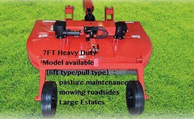 Gshf 7 Feet Heavy Duty Rotary Mower Floating 3-point Rear Attach 60hp36849320