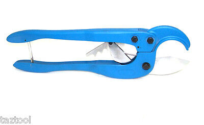 Large Pvc Plastic Pipe Cutter Ratcheting Type Cuts Up To 2-12