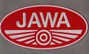 Jawa XL TS 350 Chopper 812 Millenium 125 593 Enduro 50 Aufnäher iron-on patch - <span itemprop=availableAtOrFrom>Poznan, Polska</span> - Zwroty są przyjmowane - Poznan, Polska