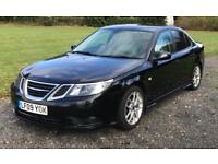SAAB 9-3 TTiD 180 BHP - 2009 - MOT AUGUST 2018 - FSH - BRAND NEW CLUTCH - LEATHER - METALLIC BLACK