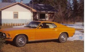 1970 Mustang info sought Prince George British Columbia image 1