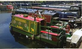 Canal Boat, Thames Tug , sleeps two, miniature 20ft Circa 1938 very rare .