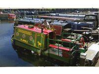 Canal Boat, Thames Tug , sleeps two, miniature 20ft Circa 1938 very rare .
