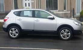 Nissan Qashqai, low mileage, 12 month M.O.T. Immaculate condition, FSH. Genuine reason for sale