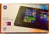 Linx 1010 Education Version (Windows 10 Pro) + Keyboard BRAND NEW Tablet