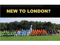 NEW TO LONDON? PLAYERS WANTED FOR FOOTBALL TEAM. FIND A SOCCER TEAM IN LONDON. PLAY IN LONDON re34