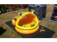 Paddling Pool Age 1-3yrs . As new. £6. Opened and pumped up today.
