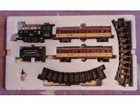 Rail King Train Set with sound and smoke