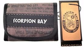 Wholesale Joblot Official Scorpion Bay Wallet Pack of 24 only £1.50 each Absolute Bargain
