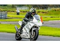 Honda cbr 600 pre injection race bike