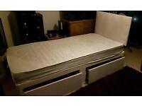 Standard single divan bed