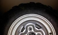 4 Rims+Tires for Yamaha Grizzly