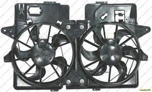 Cooling Fan Assembly 4-Cylinder  Ford Escape 2001-2004