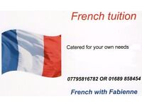Private French tuition for beginners