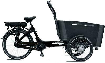 Alu Elektrotransportrad E-Bike Vogue Carry 3 BAKFIETS 7 Gang 26 Zoll Mittelmotor