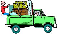 Pickup truck and man for hire
