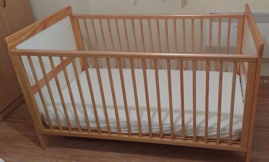 Cot Bed - £20