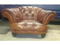 Large Leather Armchair