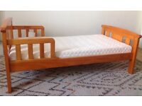 John Lewis junior toddler bed and mattress