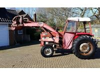 Massey Ferguson Tractor model 165 Original condition. Collectors classic historic