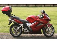 HONDA VFR 800 Sports Tourer Full Honda Luggage Genuine Low Miles Mint Example NOT GSXR R1 R6 1000RR