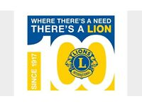 Lions Charity require volunteers for admin and help with projects flexible and help from home