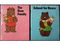 Two Vintage 1983 Little Bear Books Books/book – post or collect