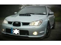 Subaru impreza hawk front splitter