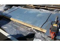 Galvanised steel plates