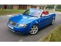 Audi S4 Quattro Cabriolet 4.2 RED LEATHER, BLUE