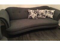 4 Seater Sofa and Cuddle Sofa