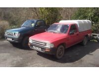 Wanted 4x4 pickup Toyota Hilux, navara, l200, ranger, diesel / 4wd / 2wd