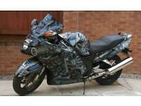 Honda CBR1100XX Super Blackbird - Transformers version