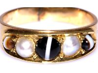 STUNNING 9CT GOLD MEN'S TIGER EYE CABOCHON RING MADE IN ENGLAND FULLY HALLMARKED FAB WORK OF ART J4U