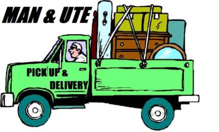 MAN AND UTE FOR HIRE