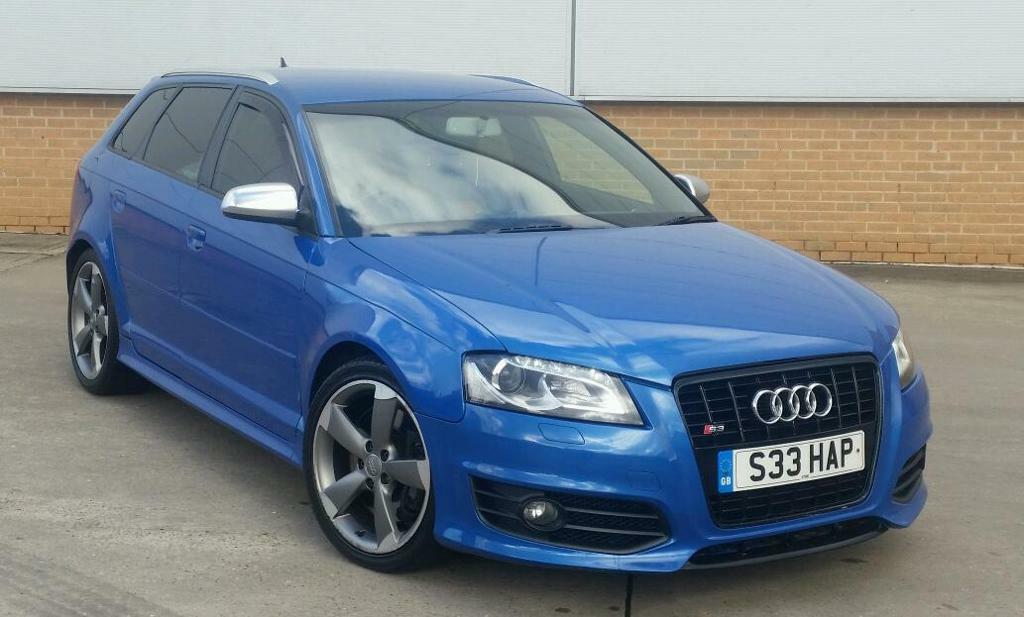 2009 audi a3 2 0 tdi 6 speed manual 5 door sportback full s3 replica orange leathers sprint blue. Black Bedroom Furniture Sets. Home Design Ideas