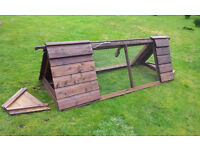 Small ark suitable for Bantams Quail, Rabbits, Guinea pig. Used but g