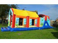 Bouncy castle and obstacle Course hire