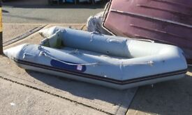 8' inflatable dinghy with inflatable floor